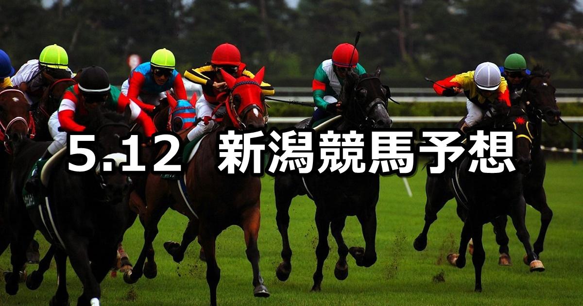 【火打山特別】5/12(土) 新潟競馬予想