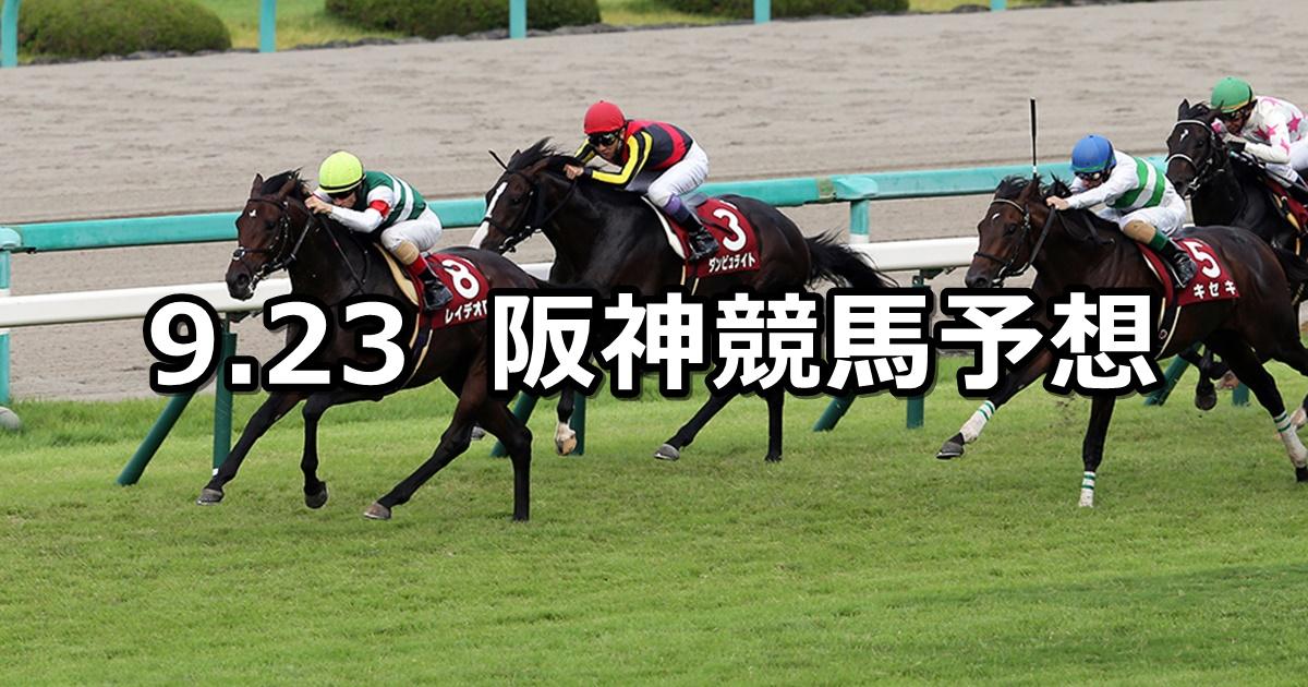【神戸新聞杯】9/23(日) 阪神競馬 穴馬予想