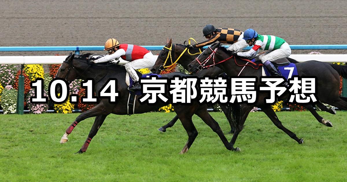 【秋華賞】10/14(日) 京都競馬 穴馬予想