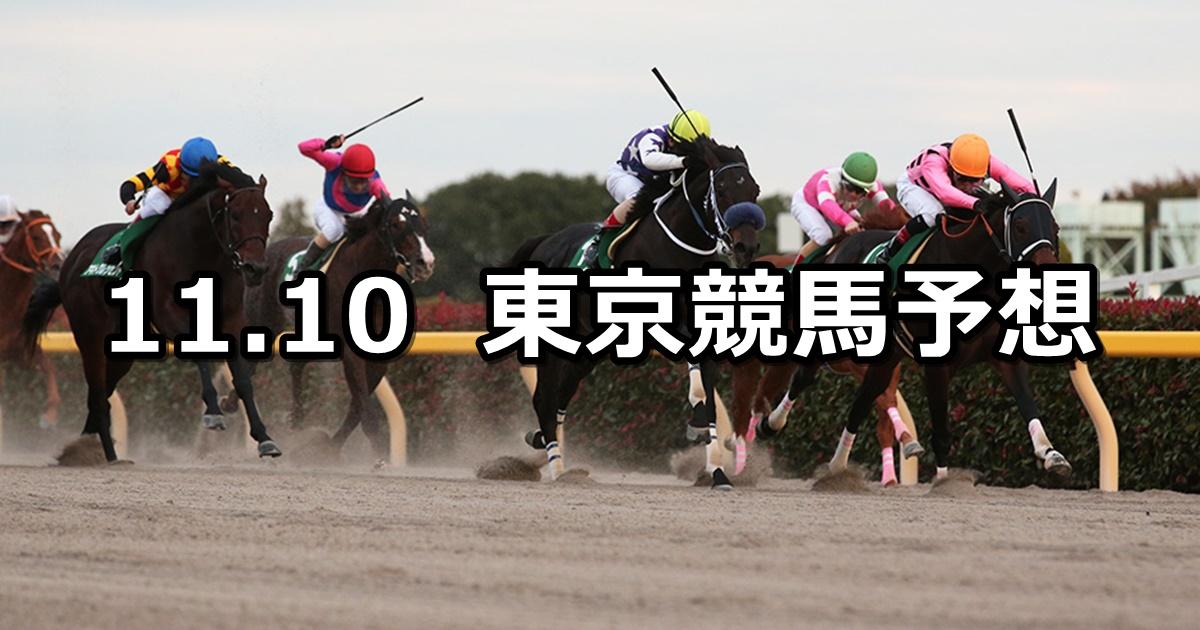 【武蔵野ステークス】11/10(土) 東京競馬 穴馬予想