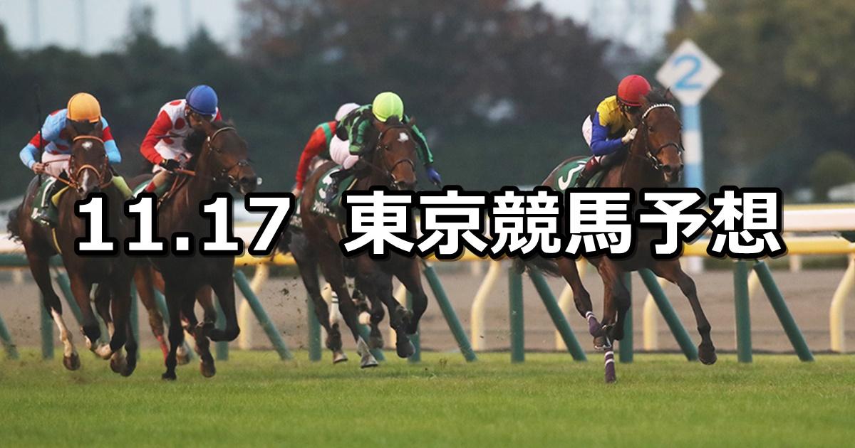 【東京スポーツ杯2歳ステークス】11/17(土) 東京競馬 穴馬予想