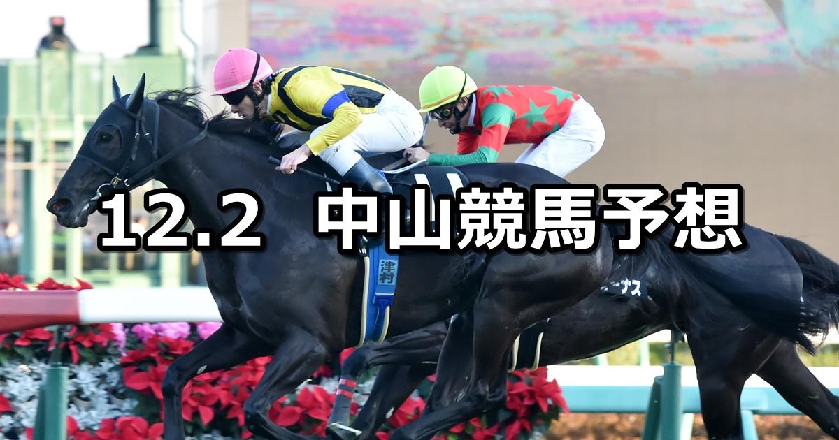【ラピスラズリステークス】12/2(日) 中山競馬 穴馬予想