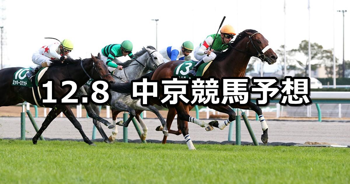 【中日新聞杯】12/8(土) 中京競馬 穴馬予想