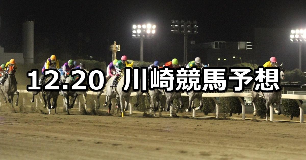 【ウインターイルミネーション特別】12/20(木)地方競馬 穴馬予想(川崎競馬)