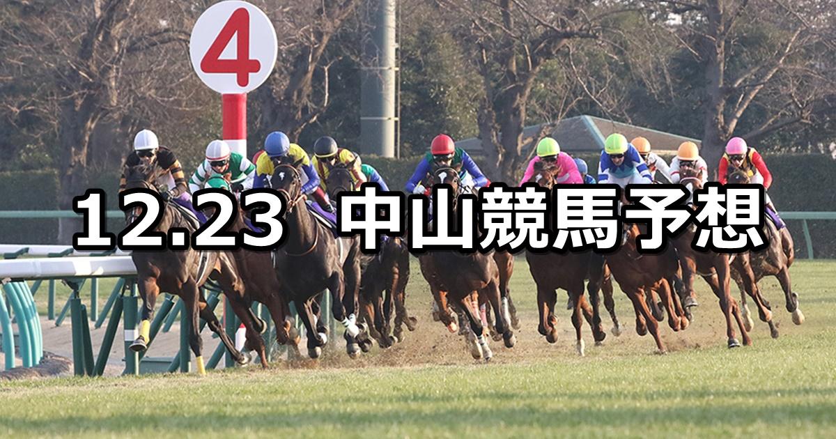 【有馬記念】12/23(日) 中山競馬 穴馬予想