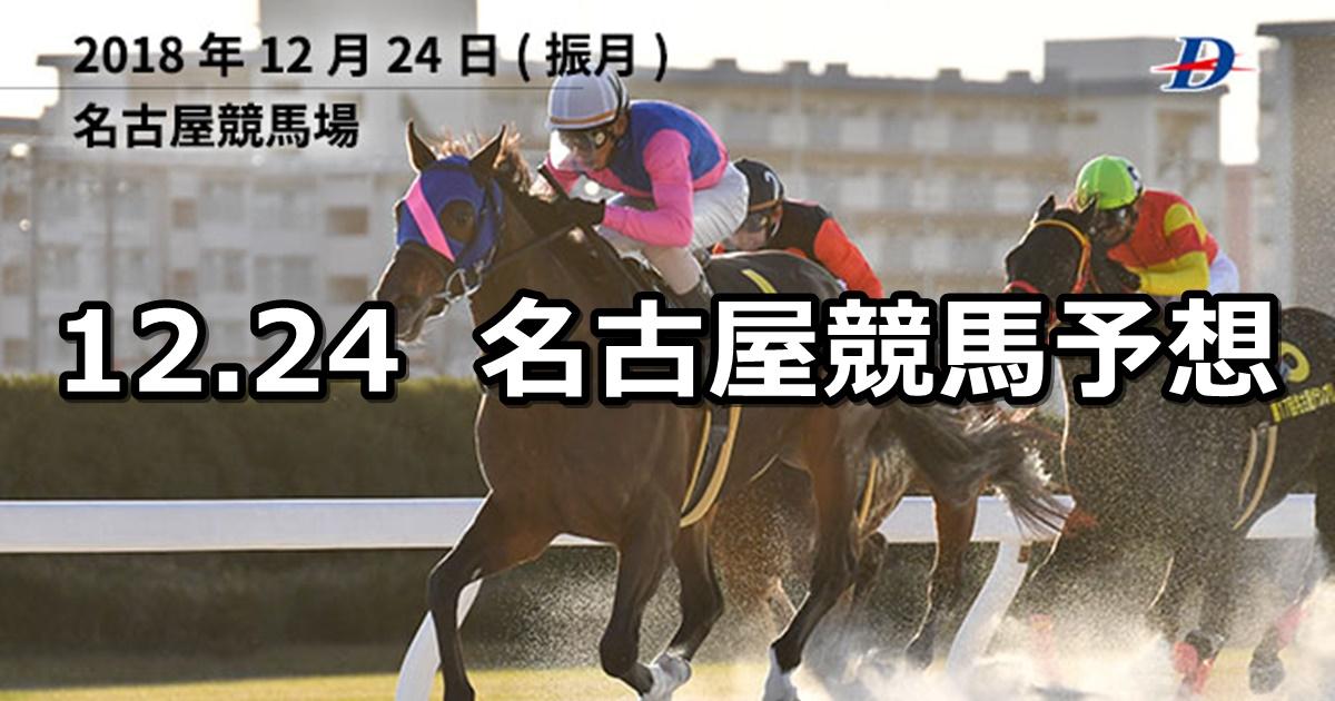 【名古屋グランプリ】12/24(月)地方競馬 穴馬予想(名古屋競馬)