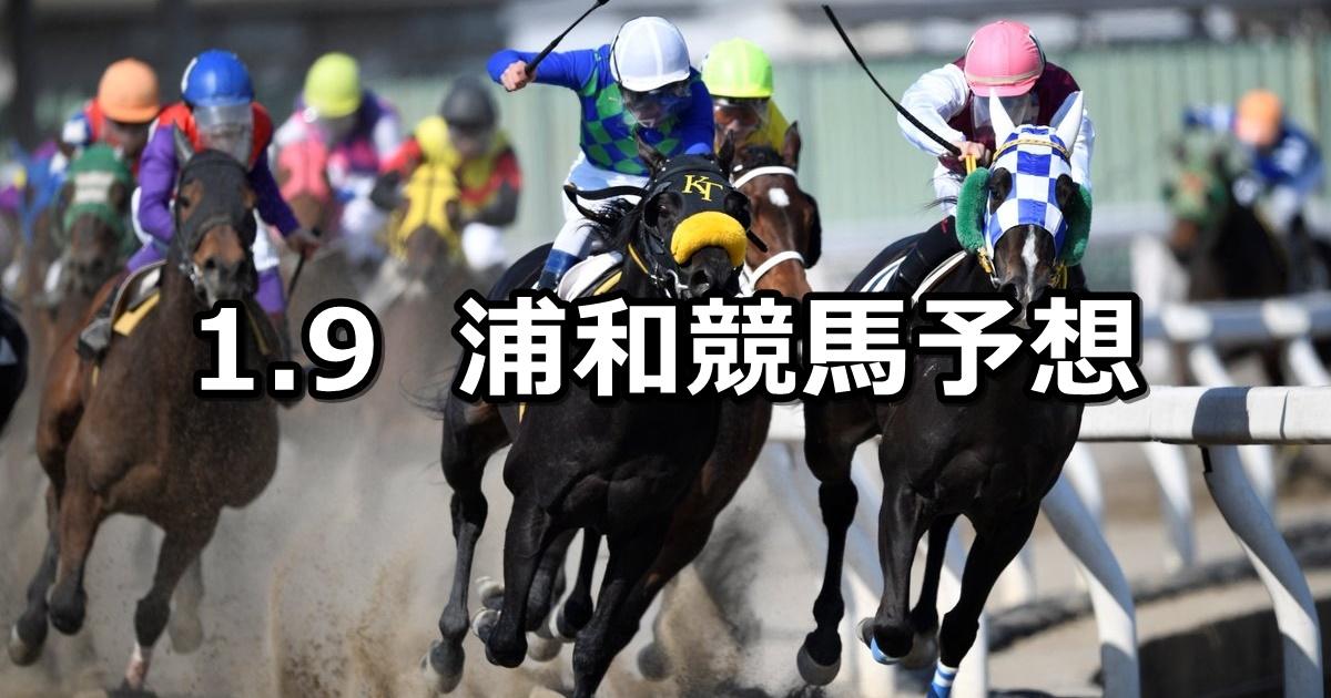 【ニューイヤーカップ】1/9(水)地方競馬 穴馬予想(浦和競馬)