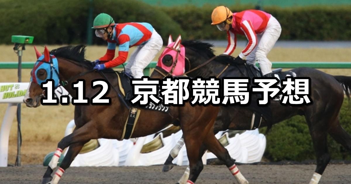 【羅生門ステークス】2019/1/12(土) 京都競馬 穴馬予想