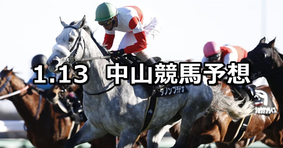 【ニューイヤーステークス】2019/1/13(日) 中山競馬 穴馬予想