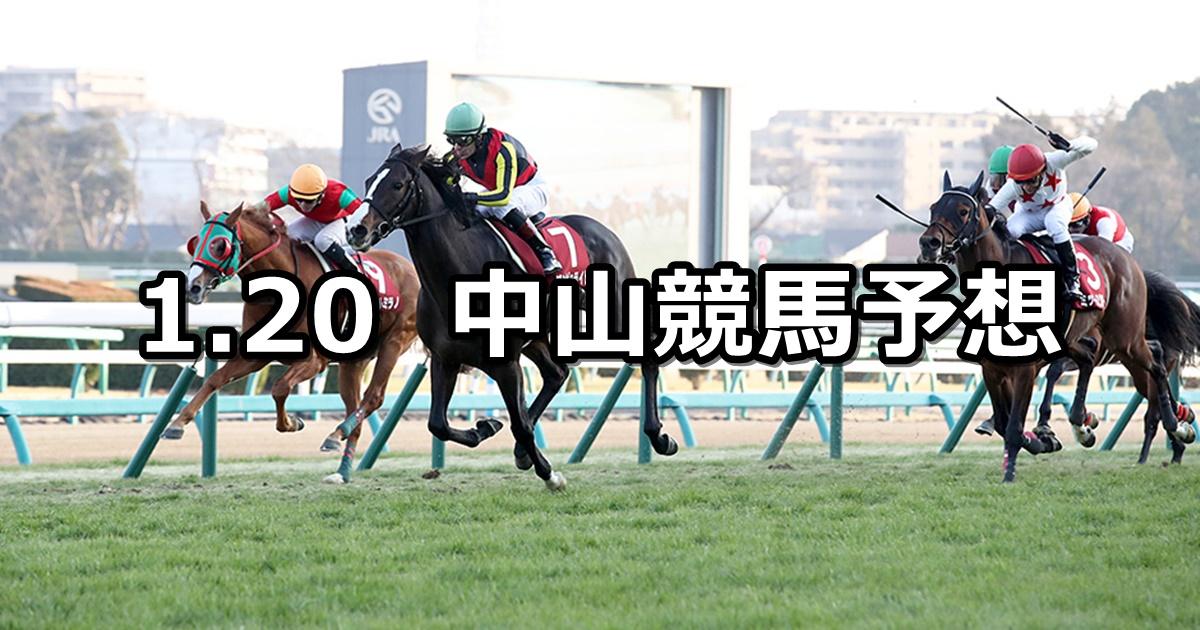 【AJCC】2019/1/20(日) 中山競馬 穴馬予想