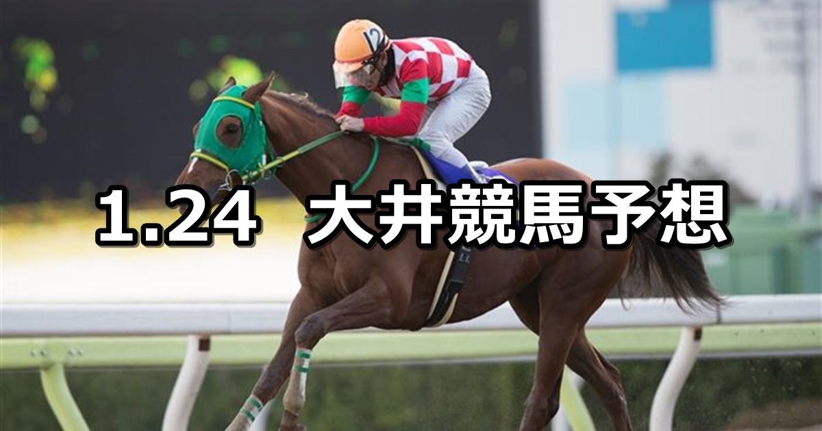 【'19ウインタースプリント】2019/1/24(木)地方競馬 穴馬予想(大井競馬)