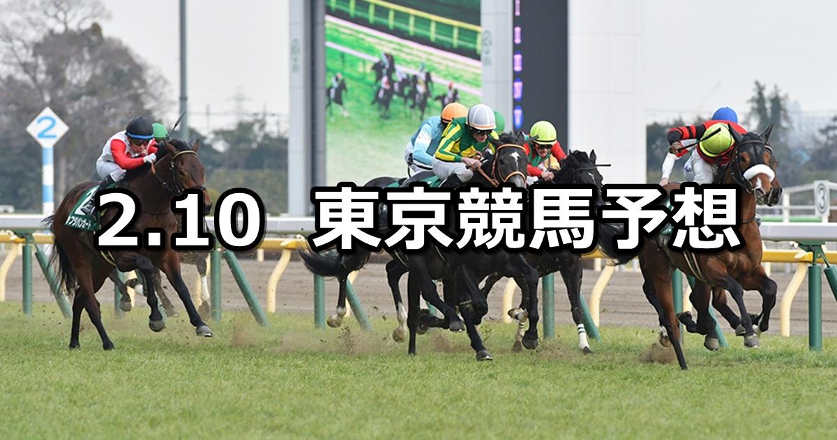 【共同通信杯】2019/2/10(日) 東京競馬 穴馬予想