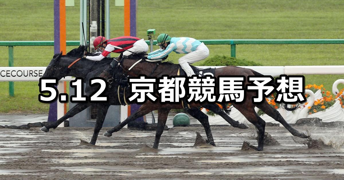 【栗東ステークス】2019/5/12(日) 京都競馬 穴馬予想