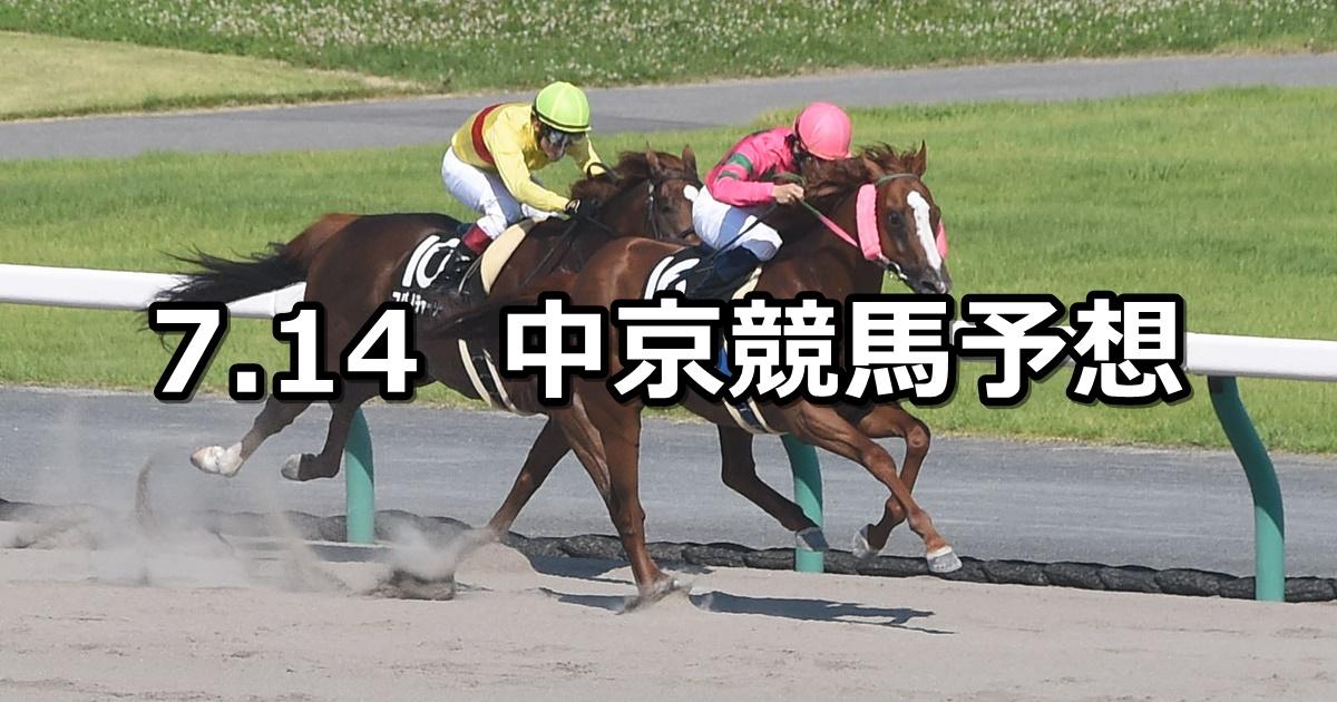 【名鉄杯】2019/7/14(日) 中京競馬 穴馬予想