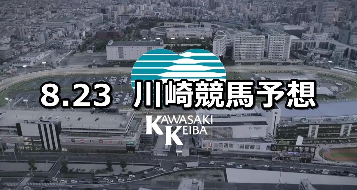 【秦野たばこ祭記念】2019/8/23(金)地方競馬 穴馬予想(川崎競馬)