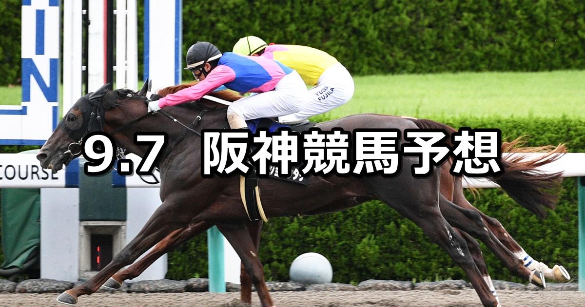 【エニフステークス】2019/9/7(土) 阪神競馬 穴馬予想