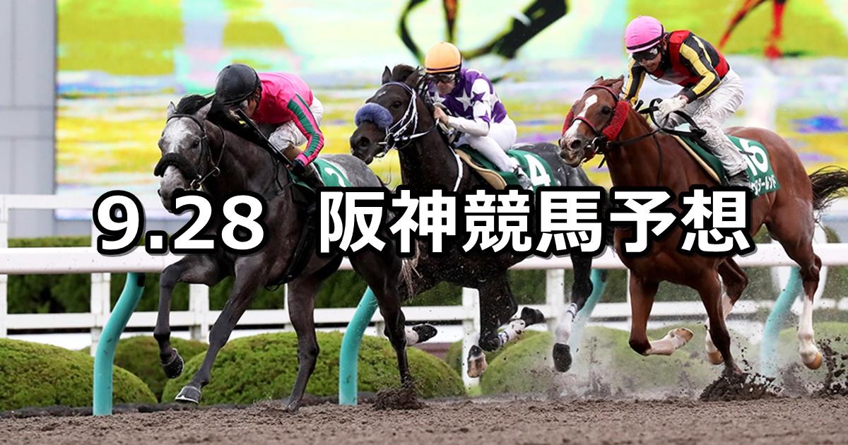 【シリウスステークス】2019/9/28(土) 阪神競馬 穴馬予想