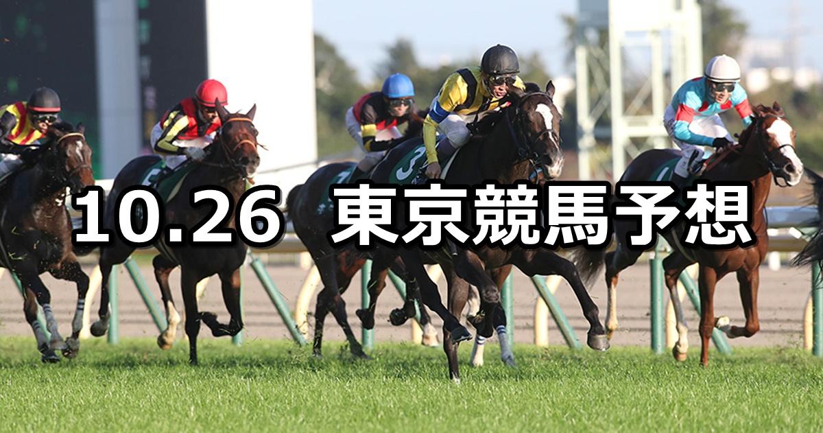 【アルテミスステークス】2019/10/26(土) 東京競馬 穴馬予想