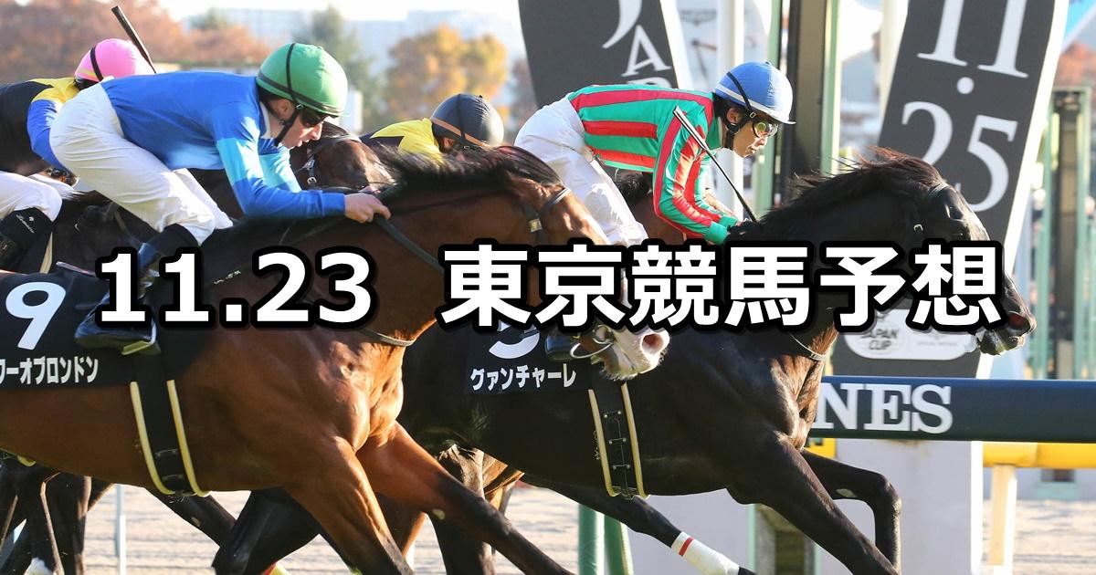 【キャピタルステークス】2019/11/23(土) 東京競馬 穴馬予想