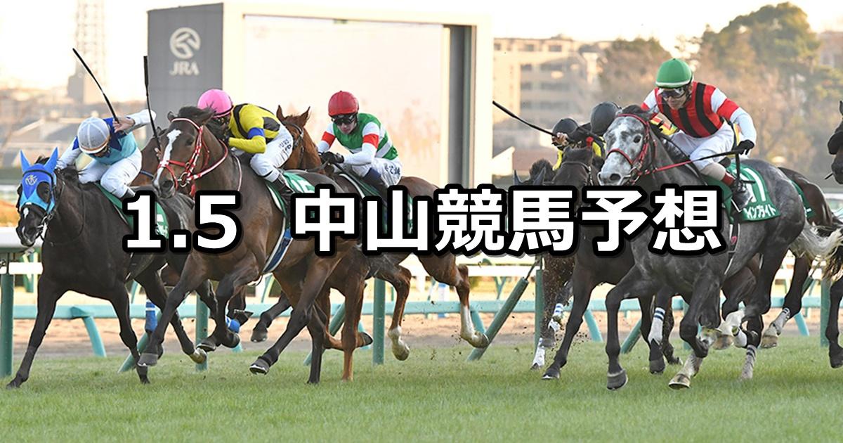 【中山金杯】2020/1/5(日) 中山競馬 穴馬予想