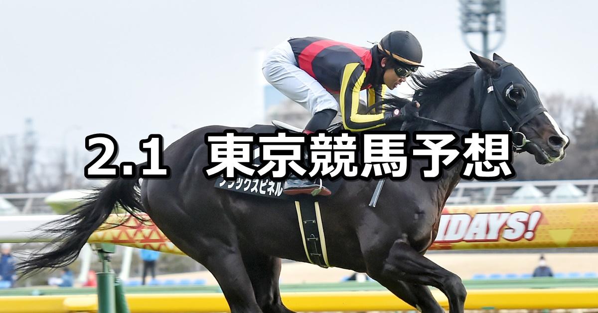 【白富士ステークス】2020/2/1(土) 東京競馬 穴馬予想