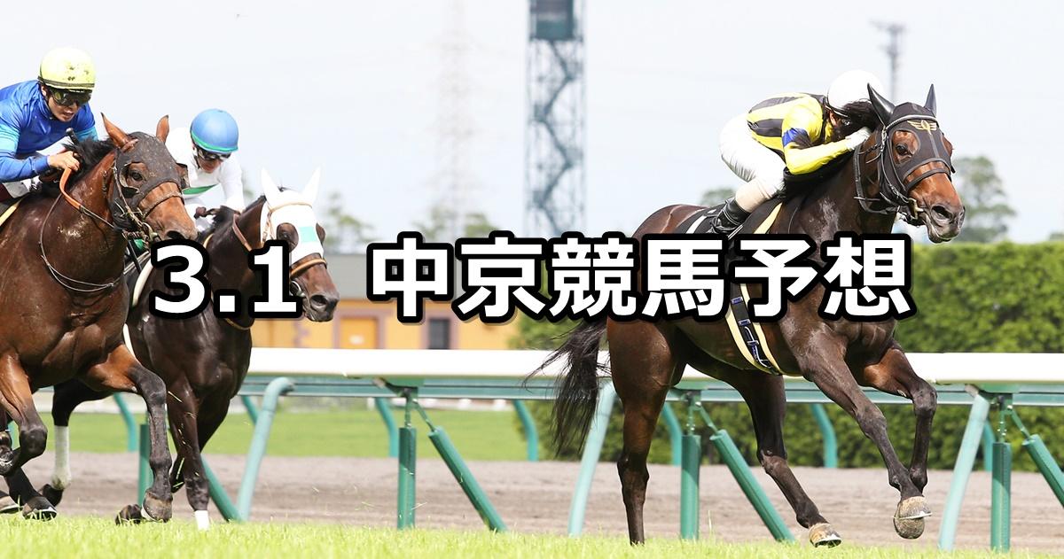 【豊明ステークス】2020/3/1(日) 中京競馬 穴馬予想