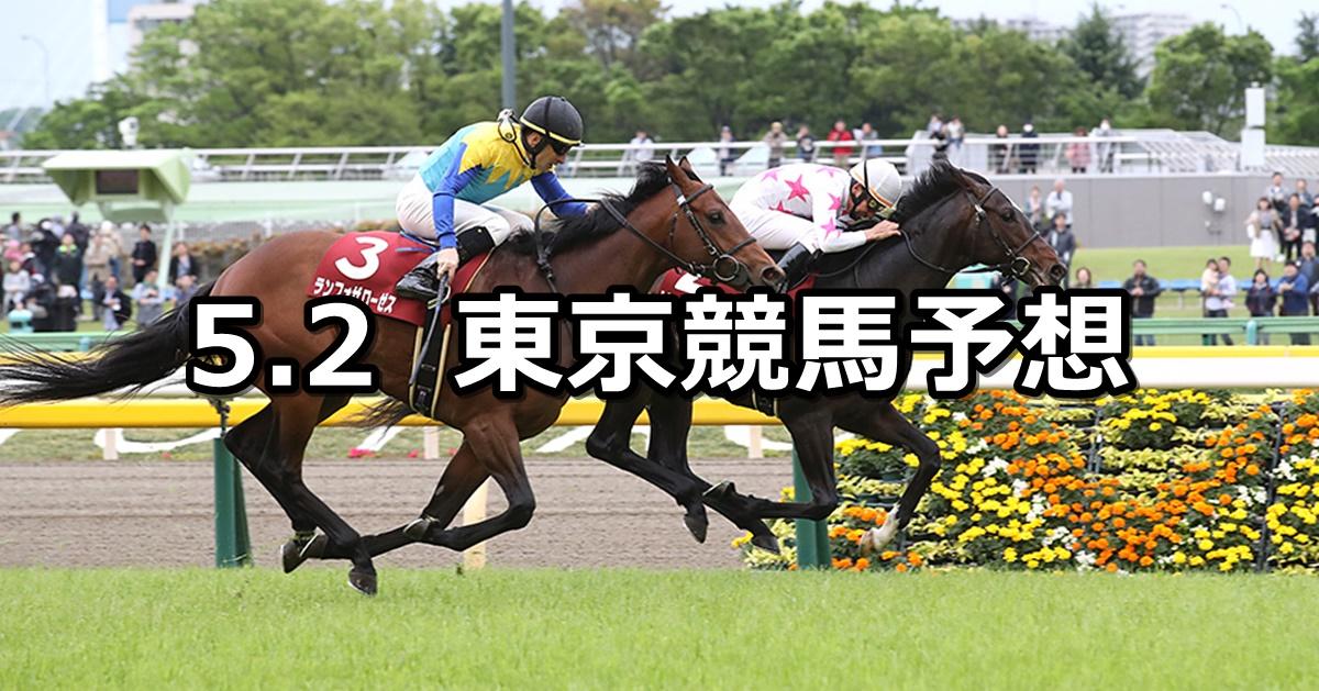 【青葉賞】2020/5/2(土) 東京競馬 穴馬予想
