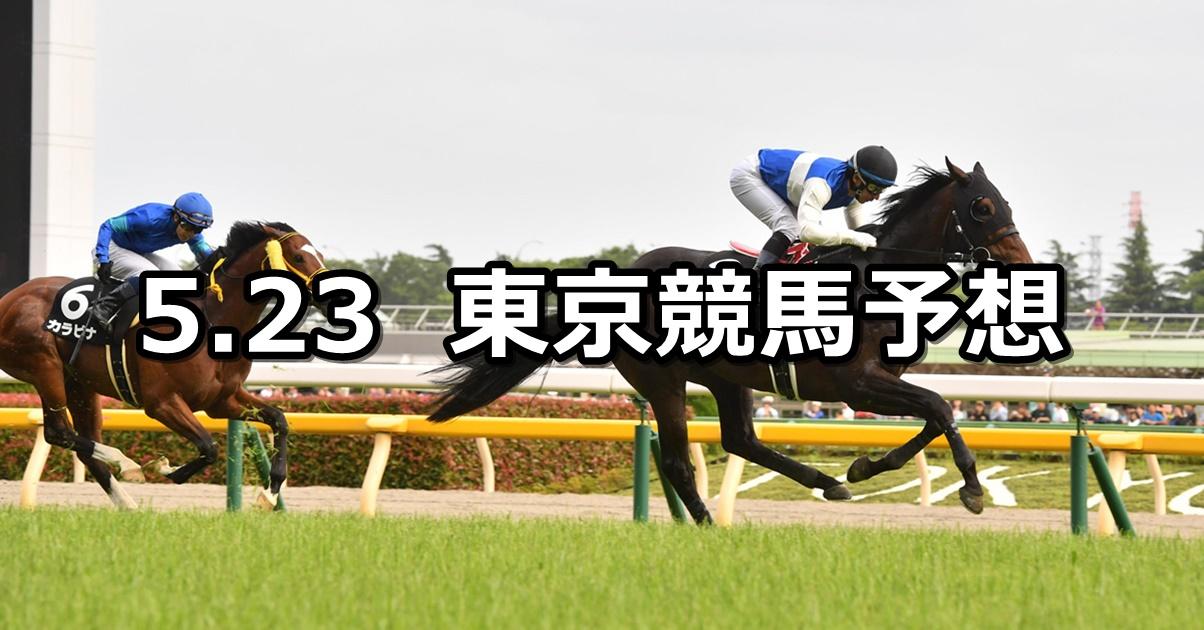 【メイステークス】2020/5/23(土) 東京競馬 穴馬予想