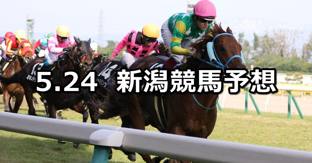 【韋駄天ステークス】2020/5/24(日) 新潟競馬 穴馬予想