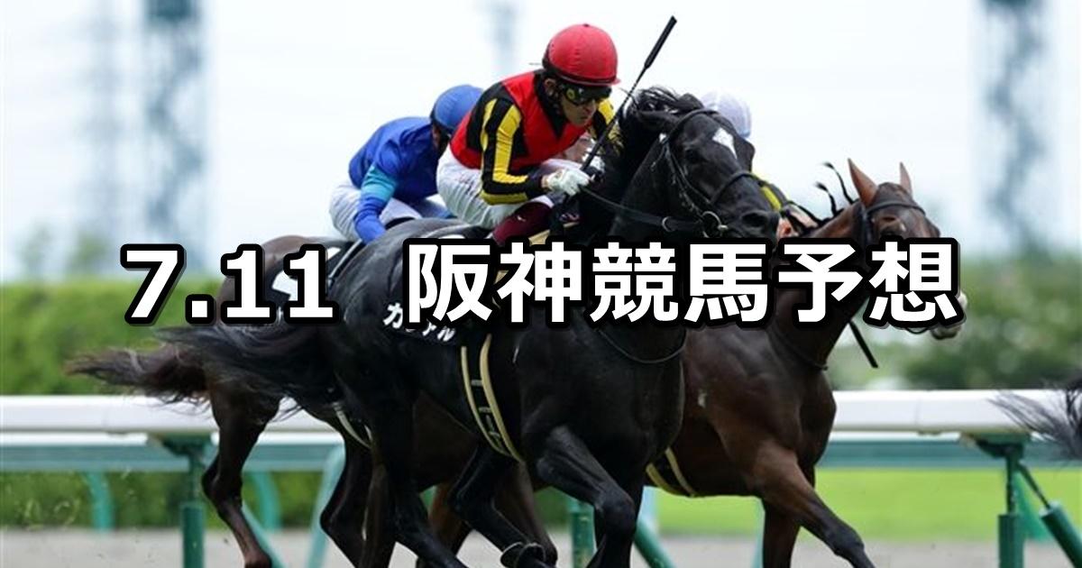 【マレーシアカップ】2020/7/11(土) 阪神競馬 穴馬予想