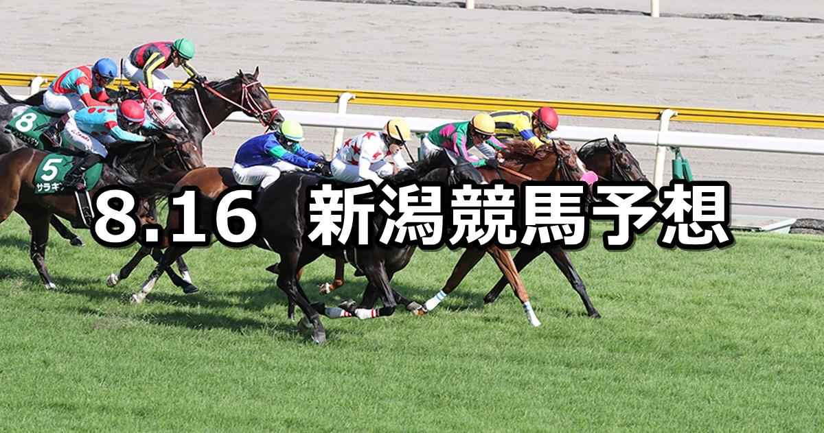 【関屋記念】2020/8/16(日) 新潟競馬 穴馬予想