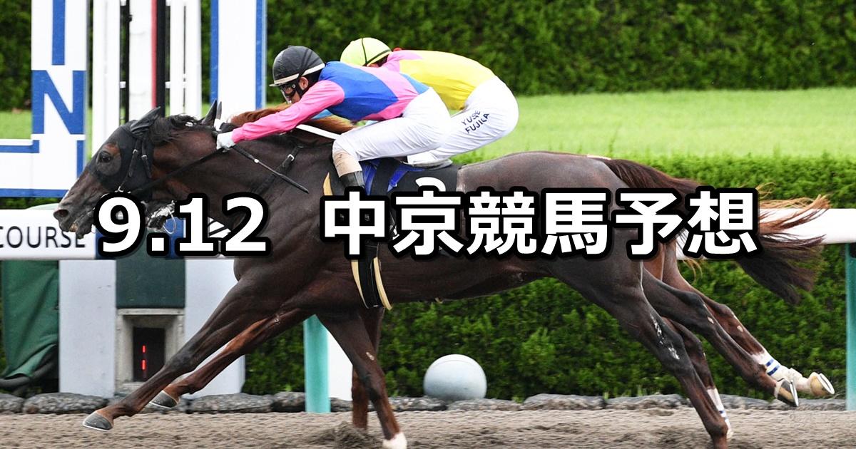 【エニフステークス】2020/9/12(土) 中京競馬 穴馬予想