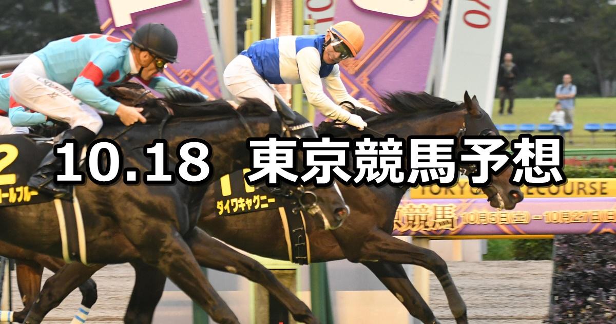 【オクトーバーステークス】2020/10/18(日) 中央競馬予想(東京競馬)