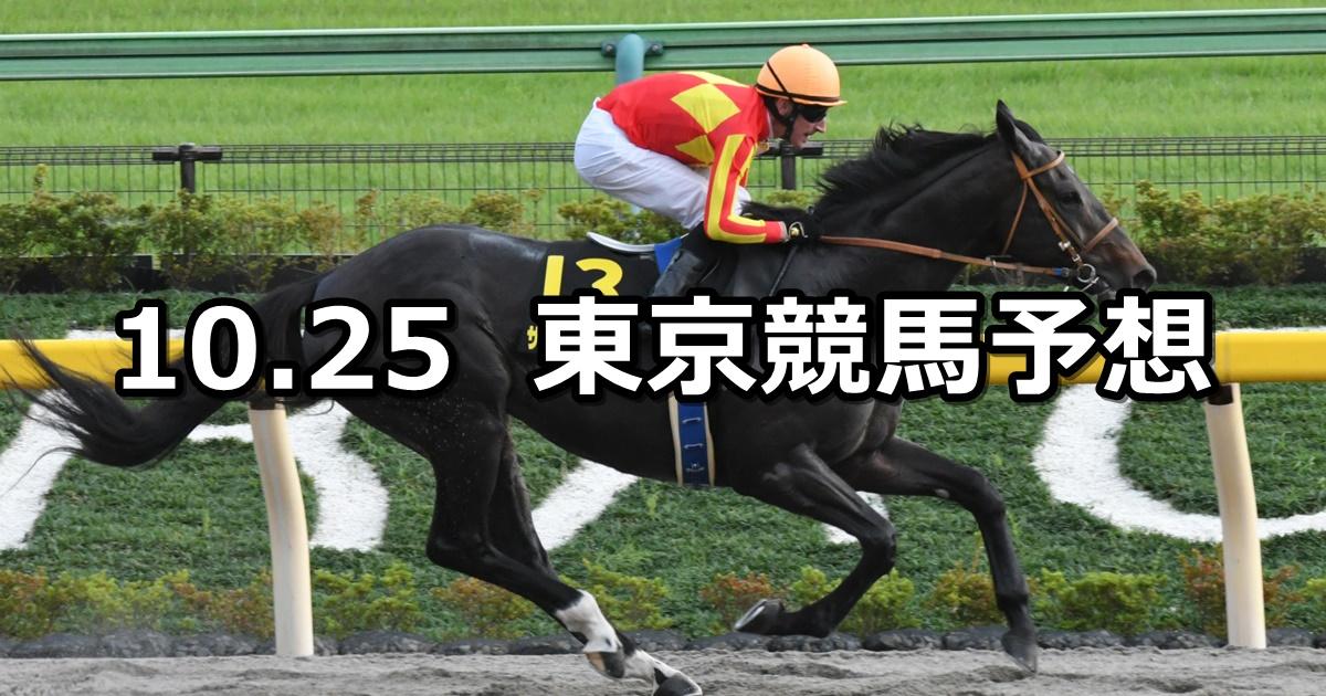 【ブラジルカップ】2020/10/25(日) 中央競馬予想(東京競馬)