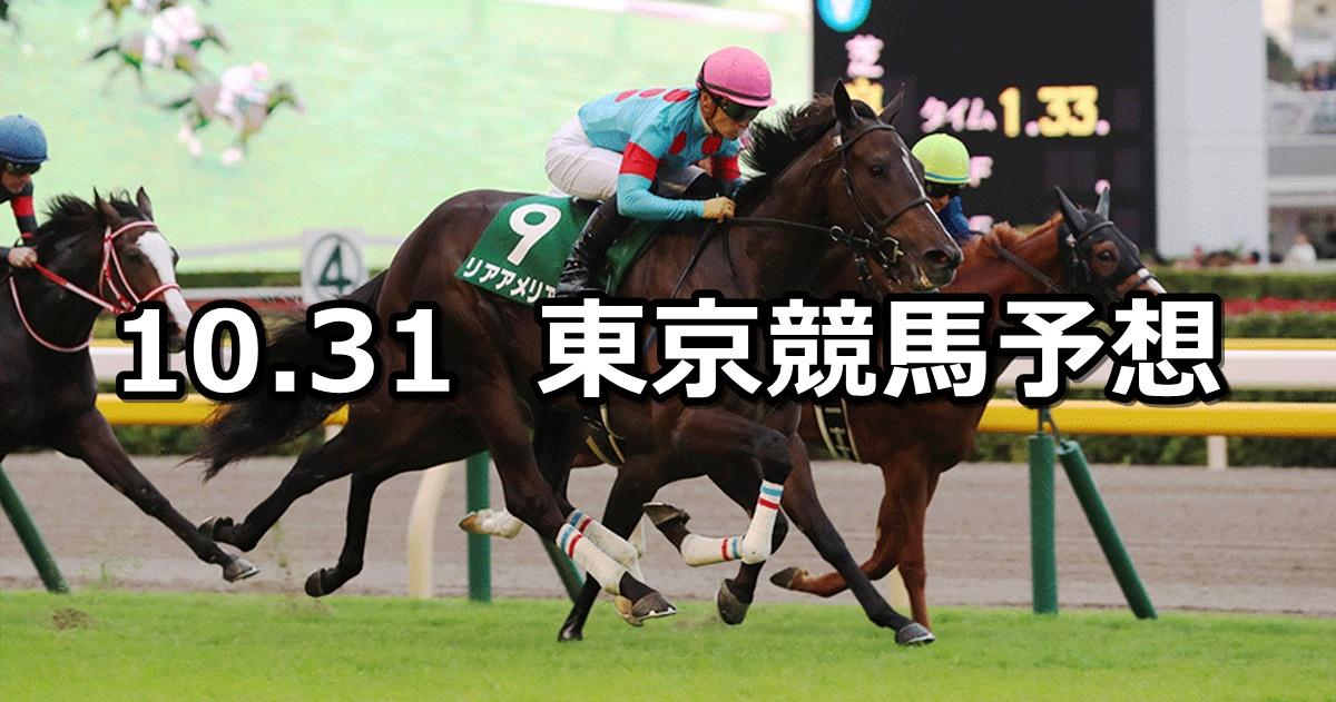 【アルテミスステークス】2020/10/31(土) 中央競馬予想(東京競馬)