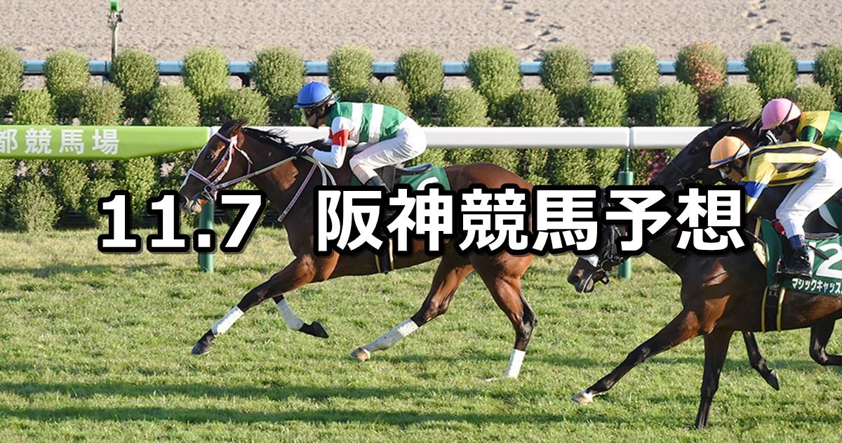 【ファンタジーステークス】2020/11/7(土) 中央競馬予想(阪神競馬)