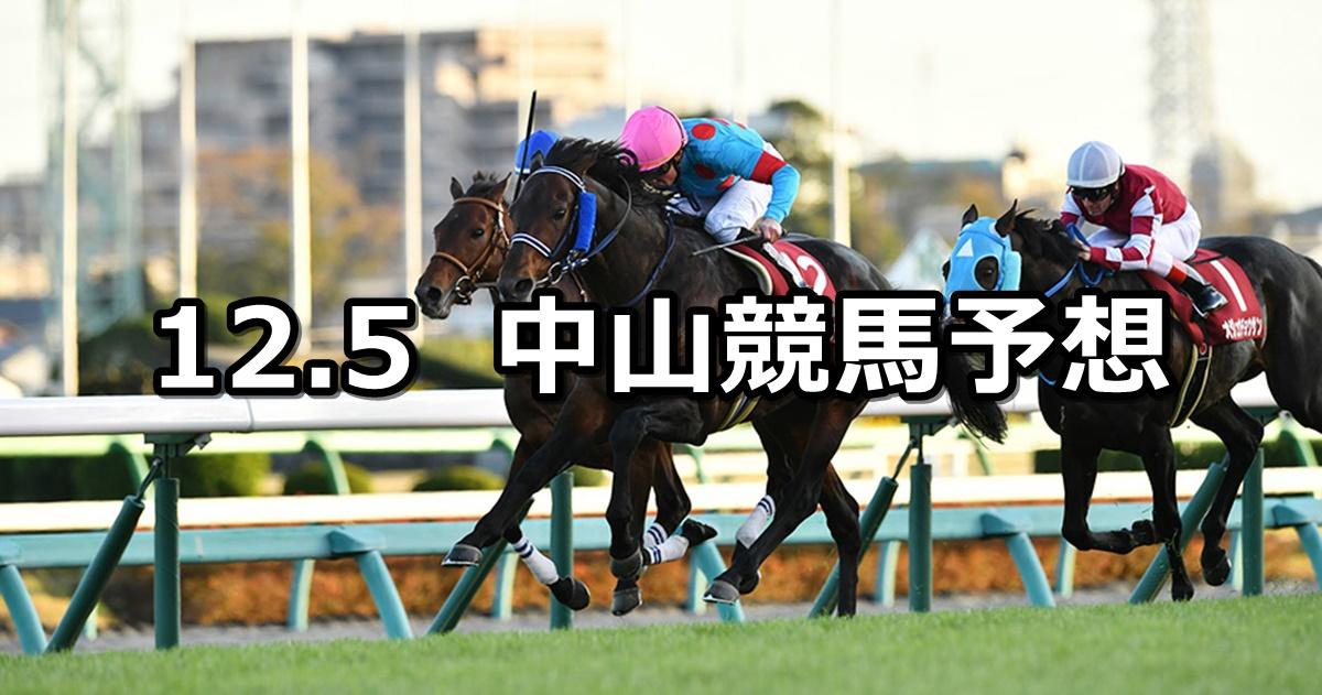 【ステイヤーズステークス】2020/12/5(土) 中央競馬予想(中山競馬)