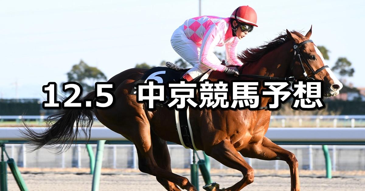 【浜松ステークス】2020/12/5(土) 中央競馬予想(中京競馬)