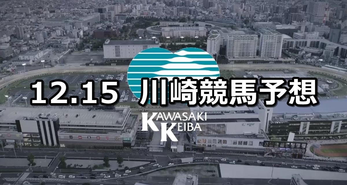【マジェスティックチャレンジ】2020/12/15(火)地方競馬 穴馬予想(川崎競馬)