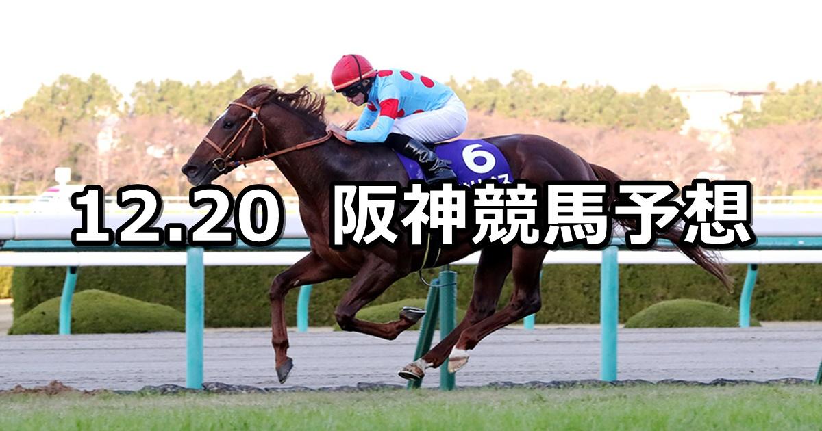 【朝日杯FS】2020/12/20(日) 中央競馬 穴馬予想(阪神競馬)