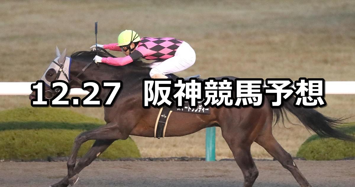 【ギャラクシーステークス】2020/12/27(日) 中央競馬 穴馬予想(阪神競馬)