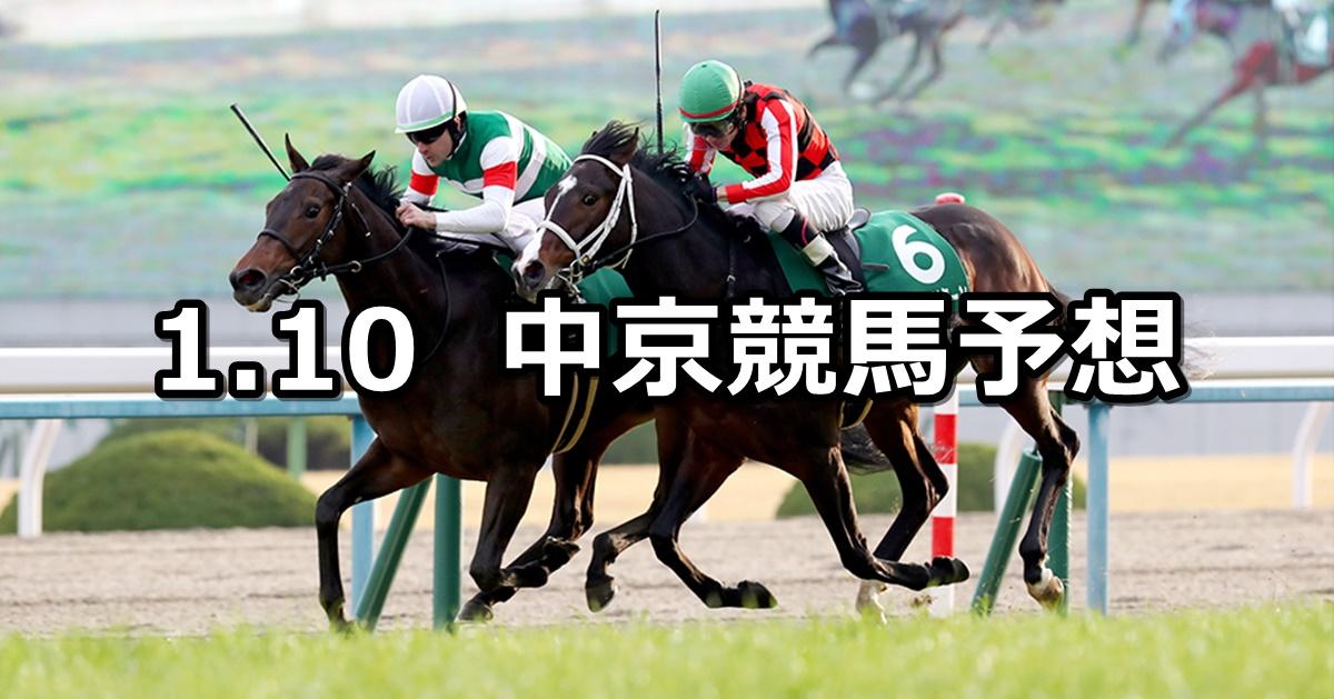 【シンザン記念】2021/1/10(日) 中央競馬予想(中京競馬)
