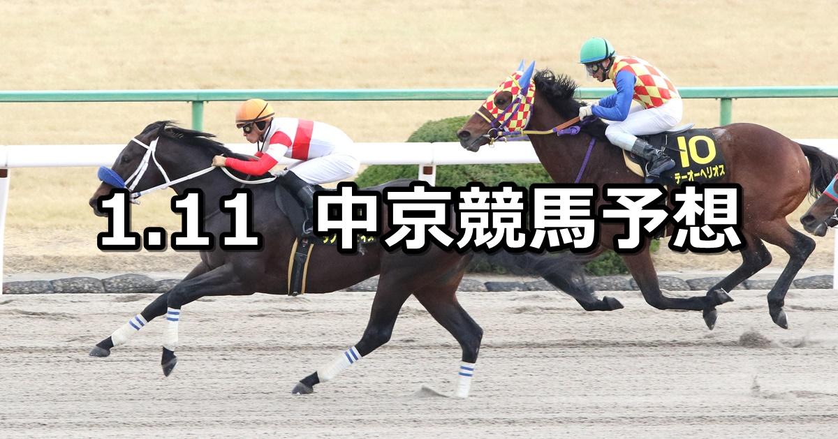 【すばるステークス】2021/1/11(月) 中央競馬予想(中京競馬)