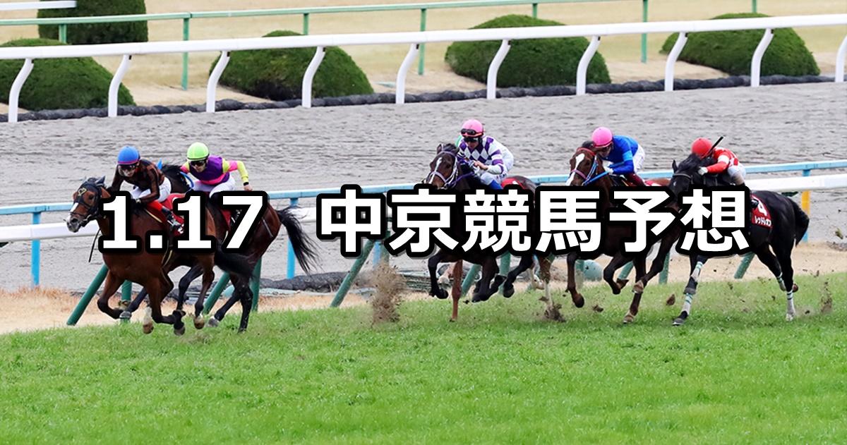 【日経新春杯】2021/1/17(日) 中央競馬 穴馬予想(中京競馬)