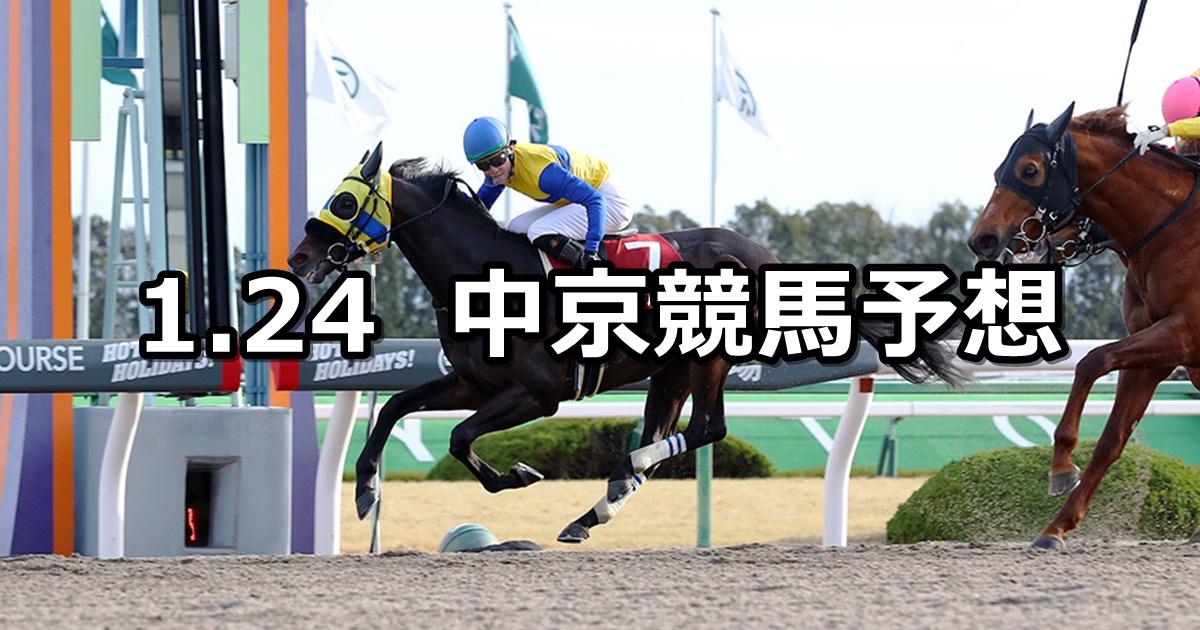 【東海ステークス】2021/1/24(日) 中央競馬 穴馬予想(中京競馬)