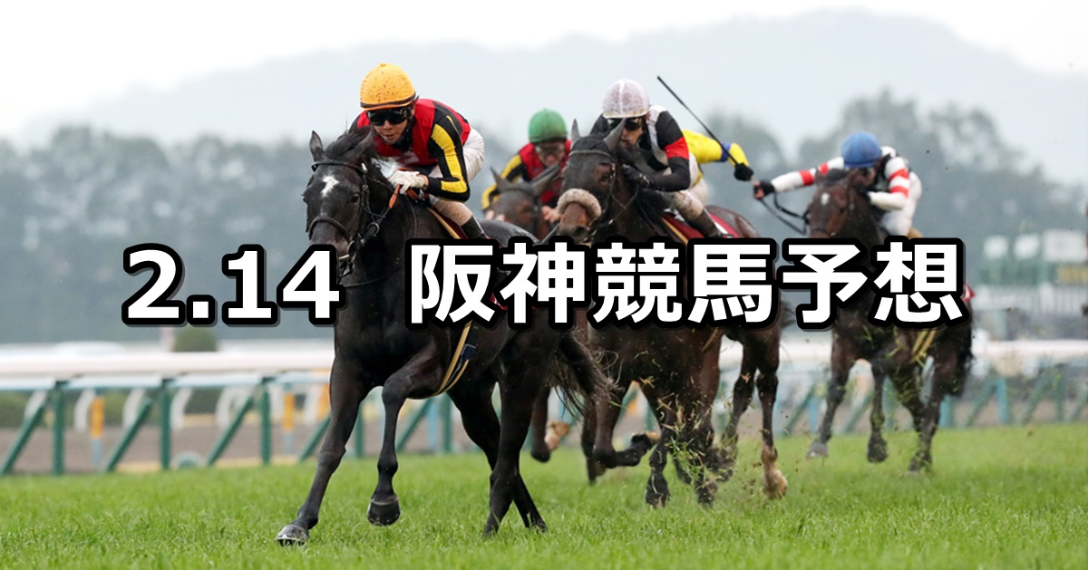 【京都記念】2021/2/14(日) 中央競馬 穴馬予想(阪神競馬)
