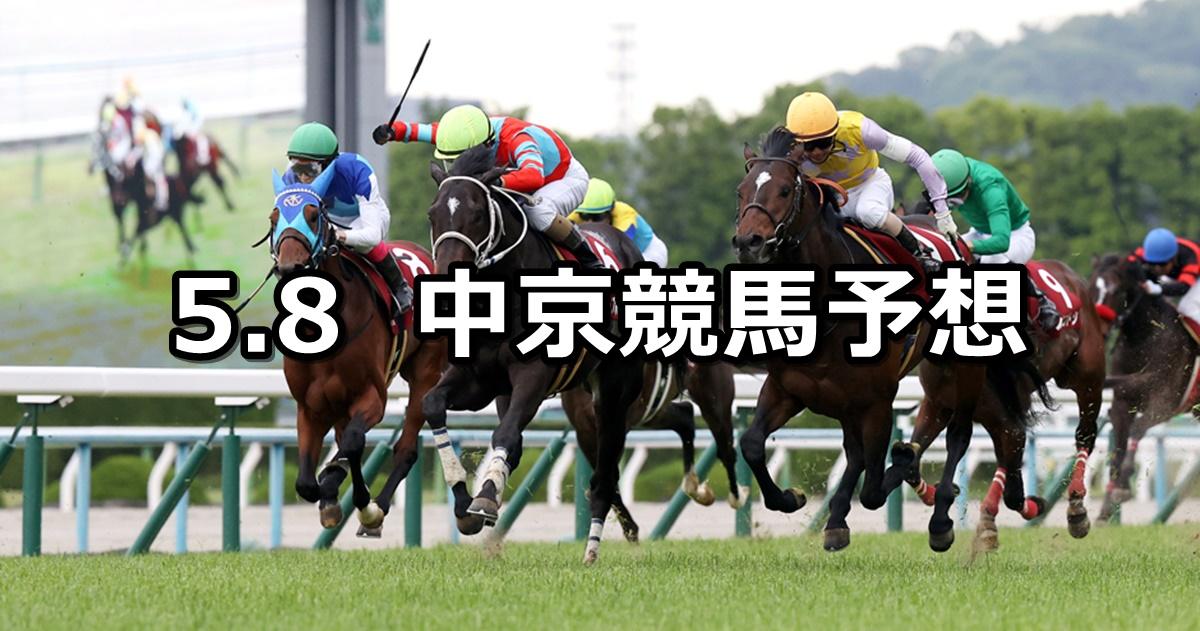 【京都新聞杯】2021/5/8(土) 中央競馬 穴馬予想(中京競馬)