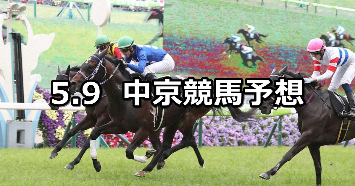 【鞍馬ステークス】2021/5/9(日) 中央競馬 穴馬予想(中京競馬)