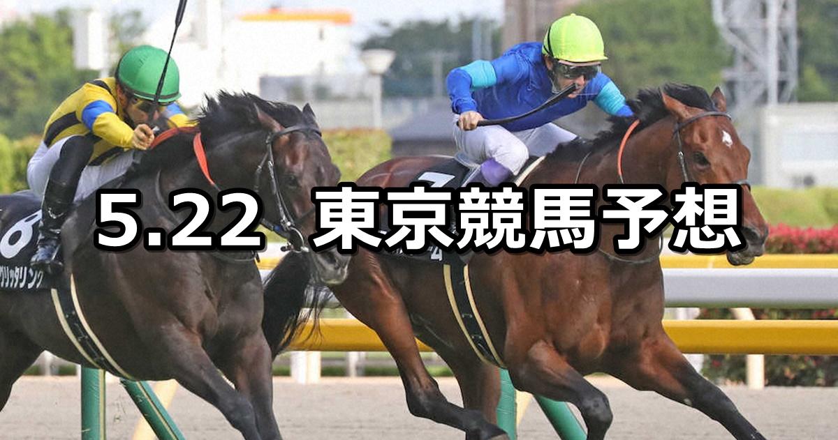 【メイステークス】2021/5/22(土) 中央競馬 穴馬予想(東京競馬)