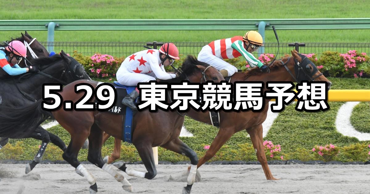 【欅ステークス】2021/5/29(土) 中央競馬 穴馬予想(東京競馬)